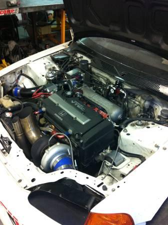 built b18c1 motor