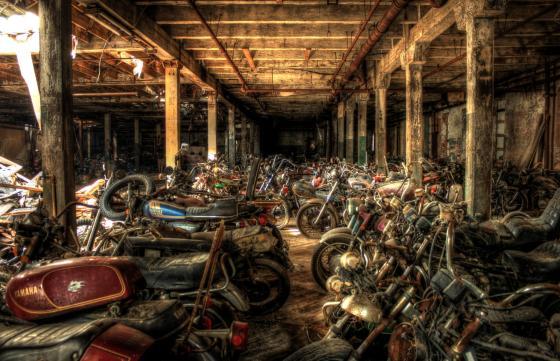 MotorBike Graveyard