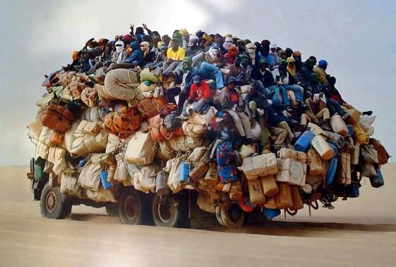 people hauling