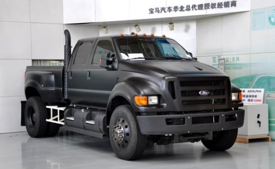ford f650 Flat Black china