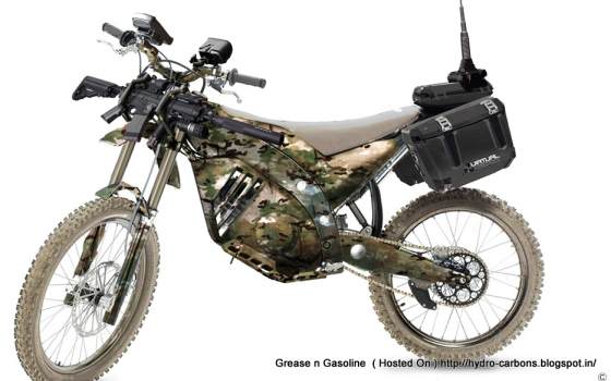 FX-4 Defense SUPER-LIGHTWEIGHT CONCEPT   MOTORCYCLE