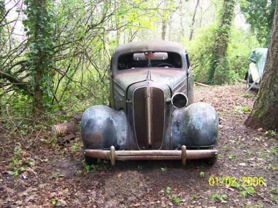 1936 chevrolet 4dr sedan